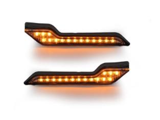 Barkbusters LED Blinker. Gelbes Licht. Als Paar