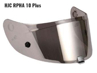 HJ-20P silber verspiegeltes Visier für RPHA 10 Plus