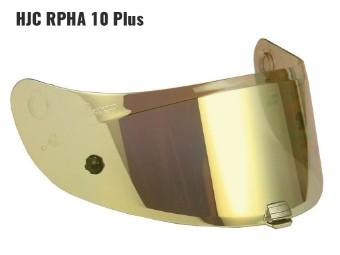 HJ-20P gold verspiegeltes Visier für RPHA 10 Plus