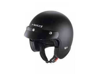Black Bob Motorrad Jet Helm inkl manuelles Sonnenvisier