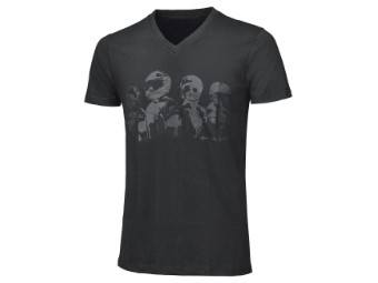 Be Heroic T-Shirt Face Design Freizeitbekleidung