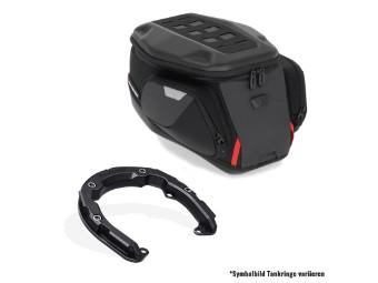 PRO Trial Tankrucksack Set mit Pro Tankring für Ducati Multistrada V4