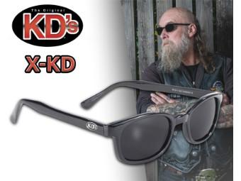 Original X-KDs Chill Biker Chopper Sonnenbrille dunkel getönte Gläser