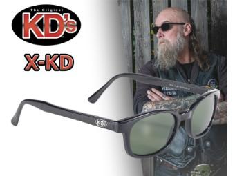 Original X-KD's Biker Sonnenbrille grün getönte Gläser Jax Sons of Anarchy