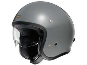 J.O Motorrad Jet Helm mit Visier