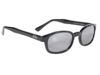 Original KDs Biker Sonnenbrille silber Verspiegelte Gläser Jax Sons of Anarchy
