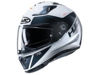 Motorrad Integral Helm i70 TAS MC10