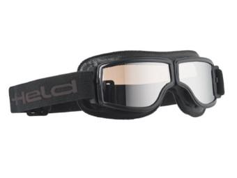 Motorradbrille Classic Goggles Verspiegelt mit UV-Schutz
