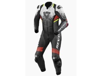Sportliche Motorrad Lederkombi Quantum II Einteilig