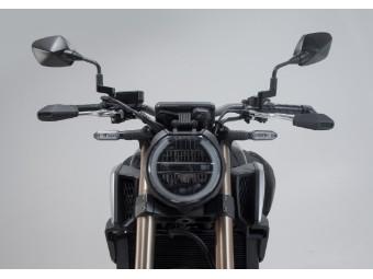 Hebelschutz mit Windabweiser passend für Honda CB650R / Kawasaki Z650