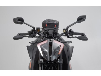 Motorrad Hebelschützer mit Windabweiser passend für KTM 1290 Super Duke R ab 2019