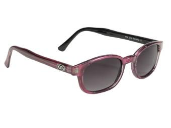 Original KDs Biker Chopper Sonnenbrille Lila Verlaufende Gläser