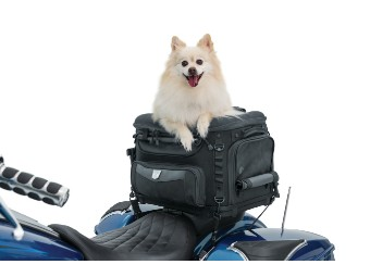 "Große Hunde Motorrad Hecktasche ""Pet Palace"" Universal"