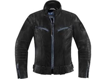 Fairlady Motorrad Lederjacke für Damen