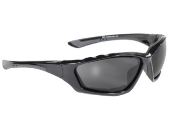 Gepolsterte Biker Sonnenbrille Kickstart dunkel getönt