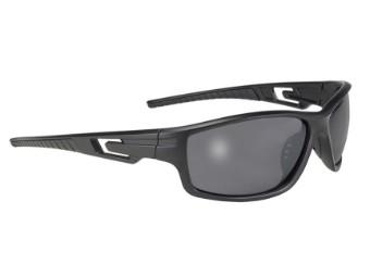 Stylische Biker Sonnenbrille Backroad dunkel getönt verspiegelt