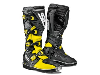 X-Treme Cross-Enduro-Stiefel neon gelb-schwarz