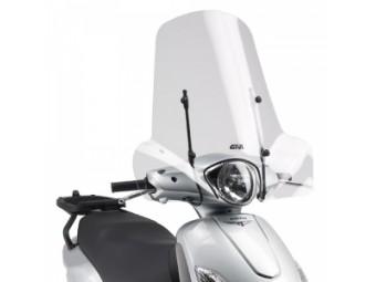 Windschild Scheibe für Piaggio & Peugeot Scooter