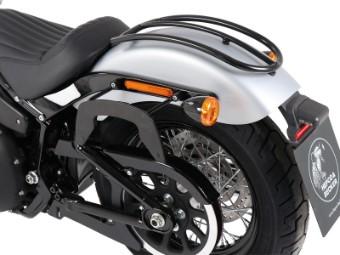 C-BOW Seitenträger in schwarz passend für Harley-Davidson Softail Street Bob