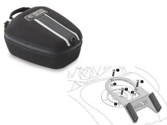 Street Daypack 2.0 Motorrad Tankrucksack Set für Moto Guzzi V 85 TT