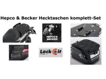 Hepco und Becker Hecktaschen Set für Motorrad KTM 690 Duke ab 2012