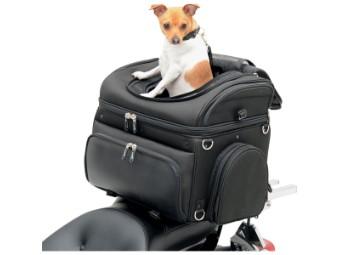 Universal Motorrad Hecktasche für Hunde und Kleintiere