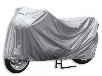 Cover Basic Motorrad Abdeckplane Faltgarage Bike wasserdicht silber NEU