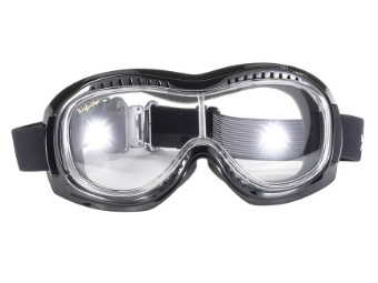Motorradbrille Airfoil Googles mit Polsterung