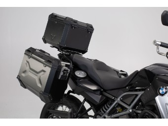 TRAX ADV Adventure Premium Aluminium  Kofferset inkl. Topcase für BMW F 750 GS / 850 GS 4G85