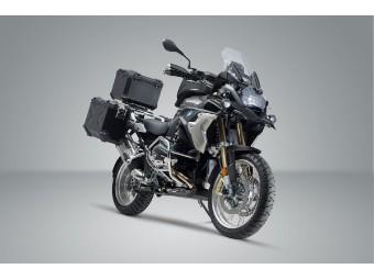 TRAX ADV Adventure Premium Aluminium  Kofferset inkl. Topcase für BMW R 1200 GS / R 1250 GS /  R 1200 GS LC Rallye