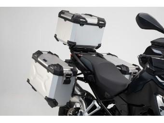 TRAX ADV Adventure Aluminium  Kofferset inkl. Topcase für BMW F 750 GS / 850 GS 4G85