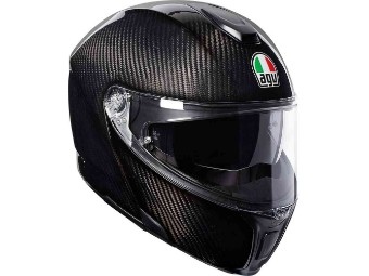 Voll-Carbon Motorrad Klapphelm Sportmodular