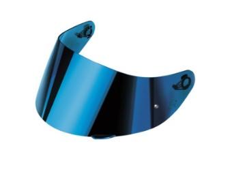 Renn Visier Iridium Blau für AGV-Helme K5 S/K3 SV (XS-S-MS)