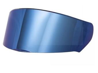 blau verspiegeltes Visier für FF397 Vector mit Pinlock-Vorbereitung