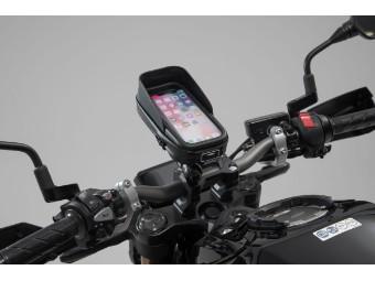 universal Motorrad Navi-Kit mit Smartphone-Case inkl. Klemmarm