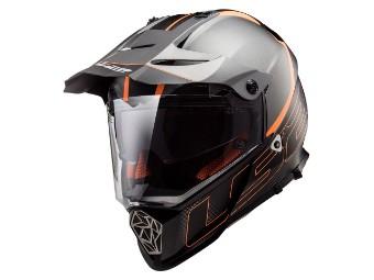 Enduro Motorradhelm PIONEER MX436