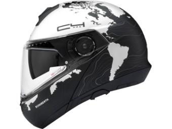 C4 Pro Motorrad Klapphelm Magnitudo