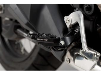 Fußrastenverbreiterung von SW-Motech für Honda