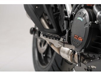 Fußrasten-Kit ION von SW-Motech für KTM
