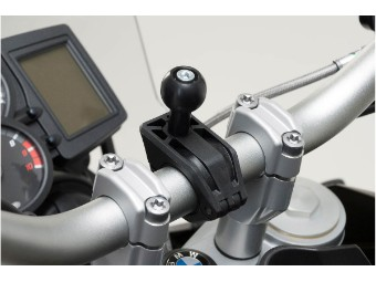 Klemme und 1 Zoll-Kugel Kit für Motorrad Navigation Aufnahme