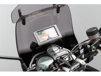 Motorrad Navi-Halter im Cockpit