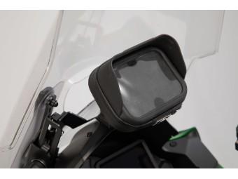 Motorrad Navi - Halter im Cockpit für Kawasaki Versys 1000
