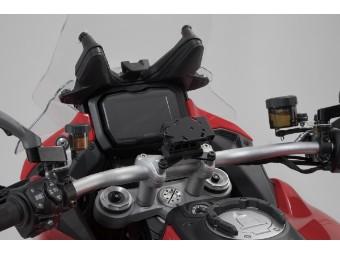 Ducati Multistrada V4 Motorrad Navi-Halter für den Lenker