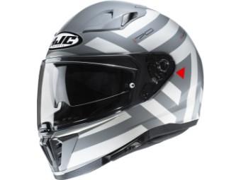 Moderner Sport/Touren Motorradhelm i70 Watu mit Sonnenbelnde und Pinlock