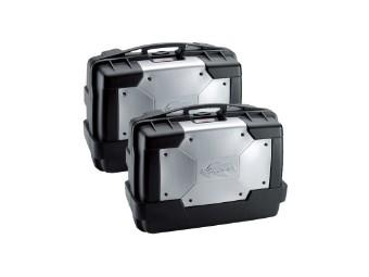 Seitenkoffer KGR46 GARDA, Kappa, schwarz, 2er Pack