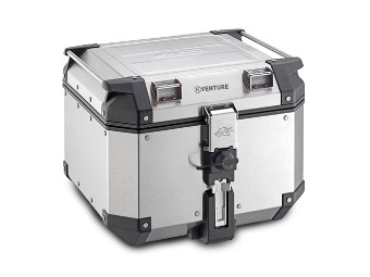 Topcase Koffer KVE42A K-VENTURE Aluminium silber, Kappa