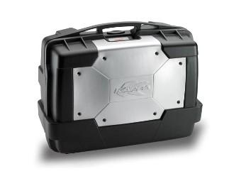 Seitenkoffer KGR33 GARDA, Kappa, schwarz, als Topcase verwendbar