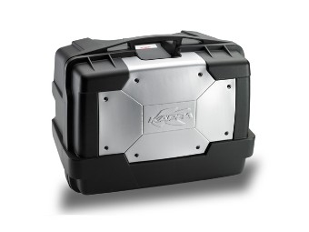 Seitenkoffer KGR46 GARDA, schwarz, Kappa, auch als Topcase verwendbar