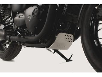 Motorrad Motorschutz Schutzplatte Unterboden Triumph