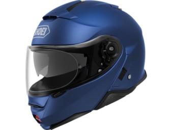 Neotec II Motorrad Klapphelm matt blau metallic
